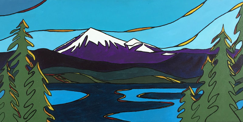 Mount Baker in Twilight